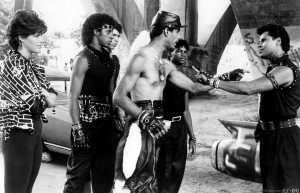 Scene From Breakin': Adolpho (Ozone), Michael (Turbo) and Lucinda (Kelly K)