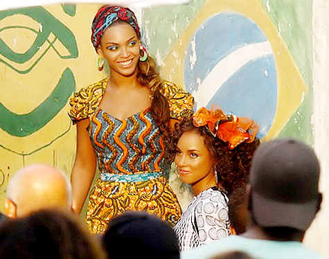 Pairing: Beyonce and Alicia Keys in Rio