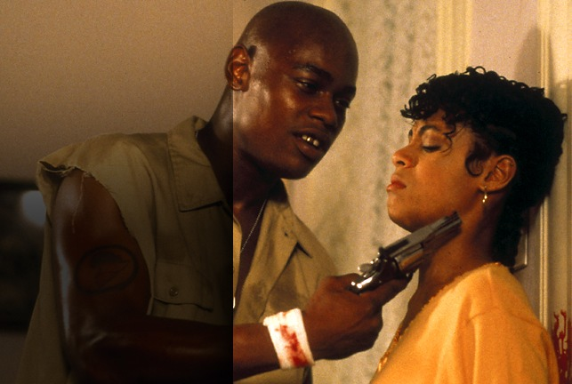 Hardcore: Joshua (Bokeem Woodbine) and Lyric (Jada Pinkett)