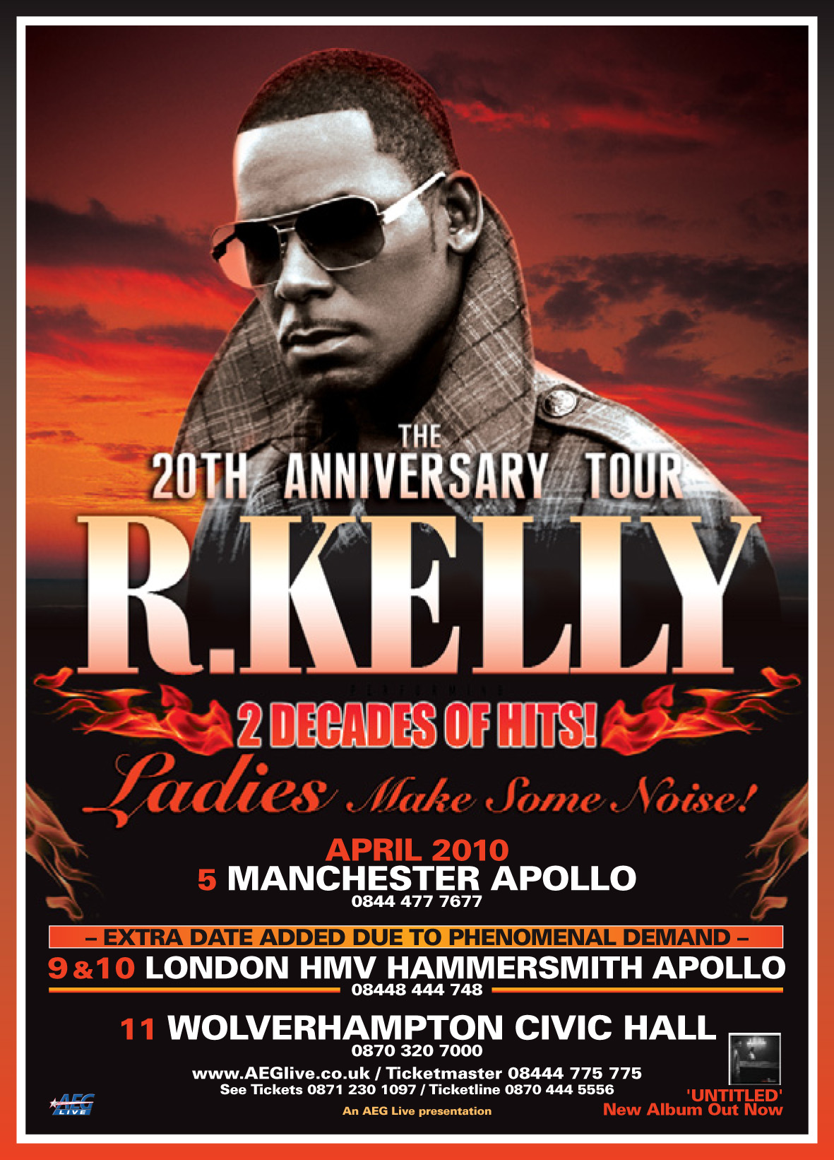 R KELLY – WIN UK CONCERT TICKETS!!!!!!! | I MISS THE OLD SCHOOL