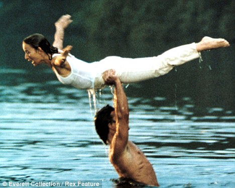 Dirty dancing lift water