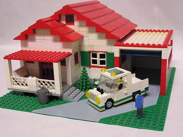 how to make an easy lego house