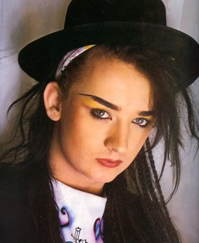 Pop Up Paint Booth >> BOY GEORGE TURNS 50 | I MISS THE OLD SCHOOL